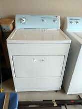 Kenmore White Washer   Dryer set with protective covering still over face plate