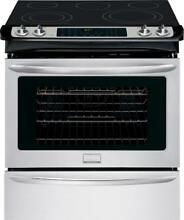 Frigidaire FGES3065PF 30 Inch Slide in Electric Range in Stainless  Steel