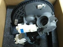 Whirlpool dishwasher pump motor assembly