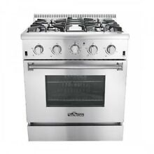 Thorkitchen HRG3026U 30  Gas Range with 4 2 cu  ft  Oven  4 Burners  Convection