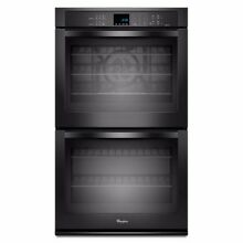 New Whirlpool Black 27 inch Double Electric Wall Oven