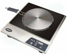 Max Burton 6050 Induction Cooktop  Stainless Steel and Black