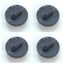 Seneca River Trading Surface Burner Knob 4 Pack for Maytag  Jenn Air  AP4088
