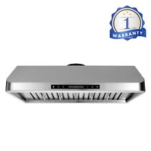 Thor kitchen 36  Under Cabinet Range Hood Stainless Steel 900 CFM Touch Control