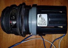 Kenmore  frigidaire dishwasher circulation pump from kenmore model 587 14002993