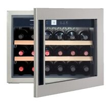 Liebherr HWS1800 24 Inch Built In Wine Cabinet 18 Bottle Capacity Active Charco