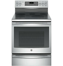 GE Profile PB930SHSS 30 Inch Freestanding Electric Range Stainless Convection