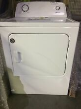 Amana NED4655EW 6 5CF 11 Cycle Front Load Electric Dryer White