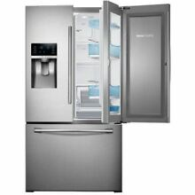 Samsung Showcase RF28HDEDBSR 27 8CF French Door Refrigerator Stainless Steel