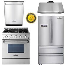 30  Gas Range 24  Dishwasher 4 Burners 36  Fridger 30  hood fan Thor kitchen