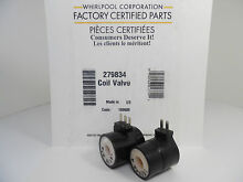 6 LOT  New Genuine Factory OEM Whirlpool Maytag Dryer Gas Valve Coil Kit 279834