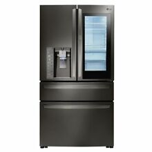 LG LMXS30796D 29 7CF Door in Door 4 Door French Door Refrigerator Black