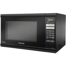 Panasonic 1 2 Cu  Ft  Microwave Oven in Black with Inverter Technology   NN SN65