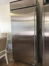 GE Monogram stainless steel 36  refrigerator    36  freezer
