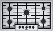 Bosch NGM5655UC 36  Natural Gas Sealed Burner Style Cooktop in Stainless Steel