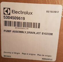Electrolux  Frigidaire Washer Drain Pump BRAND NEW   5304509619