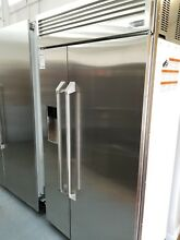 GE Monogram ZISP420DKSS 42  Built in Side by Side Refrigerator