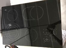 Ikea Nitida Glass Ceramic Black Electric Cooktop  30 3 8 X 21 1 4