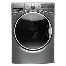 Whirlpool WFW92HEFC 4 5CF 12 Cycle Washing Machine with Steam   Chrome Shadow