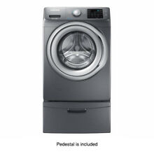 Samsung WF42H5200AP Washing Machine with Steam and Pedestal WE3570P   Platinum