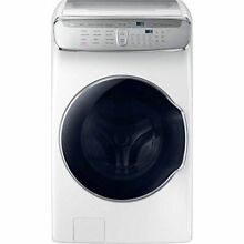 Samsung WV60M9900AW 6 0CF FlexWash Washing Machine with Steam   White
