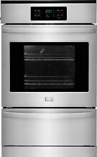 Frigidaire FFGW2425QS 24   Gas Single Wall Oven  in Stainless Steel