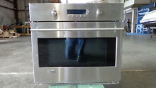 GE Monogram SS Wall Oven   ZET 1SOM1SS ELECTRIC