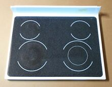 Whirlpool Range Glass Cooktop 9755811 WHITE 665 92142300 RP3410147