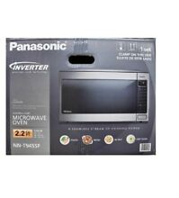 Panasonic 2 2 Cu  Ft  1250 Watt Microwave Oven  Stainless