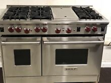 Wolf 48  GR486C Pro Style Gas Range with 6 Burners and Infrared Charbroiler