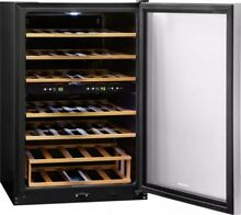 Haier double zone wine cooler