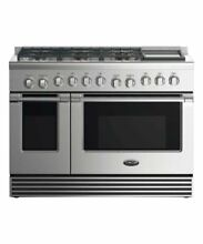 DCS  RGV2488N 48 Inch Gas Range Natural Gas Stainless Steel