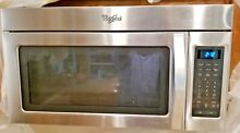 Whirlpool WMH31017AS 1000 Watts Microwave Oven Vent Hood Combo Stainless Steel