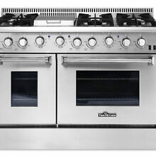 Thor Kitchen HRG4808U Stainless Steel 48 in  Gas Range