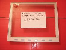 WHIRLPOOL REFRIGERATOR SHELF AND GLASS PART   2223232