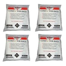60 Whirlpool Trash Compactor Bags Compatible with Jenn Air 15