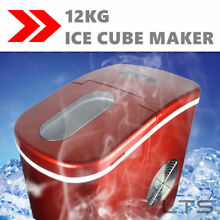 2 2L Portable Countertop Ice Cube Maker Home Ice Make Machine 12KG   24Hours New