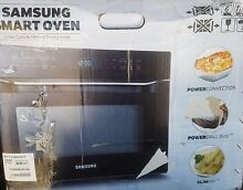 Samsung Smart Oven 1 2 cu ft CounterTop Convection Microwave