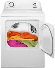 240 V Home Indoor Laundry Appliances Metal Top Load Electric Vented Dryer White