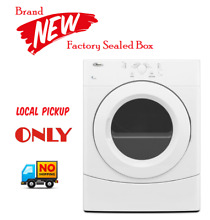 Whirlpool Electric Dryer   WED9050XW   White   LOCAL PICK UP ONLY
