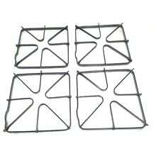 SRT Appliance Parts 4 WB31K6  Gas Stove Top Burner Grate 4 Pack replaces GE