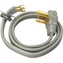 Coleman Cable 30 Amp 3 Wire Dryer Power Cord  4 Foot