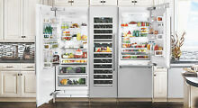 Fhiaba FI30BDI LO Integrated 30 In Counter Depth Freezer Refrigerator Panel Read