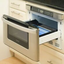 Built in Microwave Drawer 1 2 cu  ft  Stainless Steel Sensor Cooking Appliance