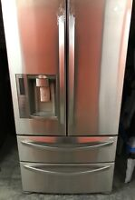 LG LMX28988ST 36  Stainless Steel 4 Drawer French Door Refrigerator