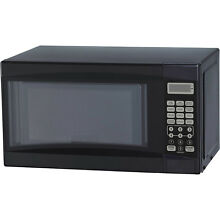 Mainstays 0 7cu ft Digital LED Countertop Microwave Oven 700W For Dorm  Kitchen