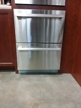 Thermador 24  SS Masterpiece Double Refrigerator Drawers T24UR810DS