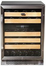 Whynter 46 Bottle Dual Temperature Zone Built In Wine Refrigerator