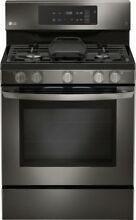 LG   5 4 Cu  Ft  Freestanding Gas Convection Range   Black stainless steel  NIB