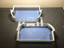Whirlpool Refrigerator Door Shelf Set of 2 P  W10451501